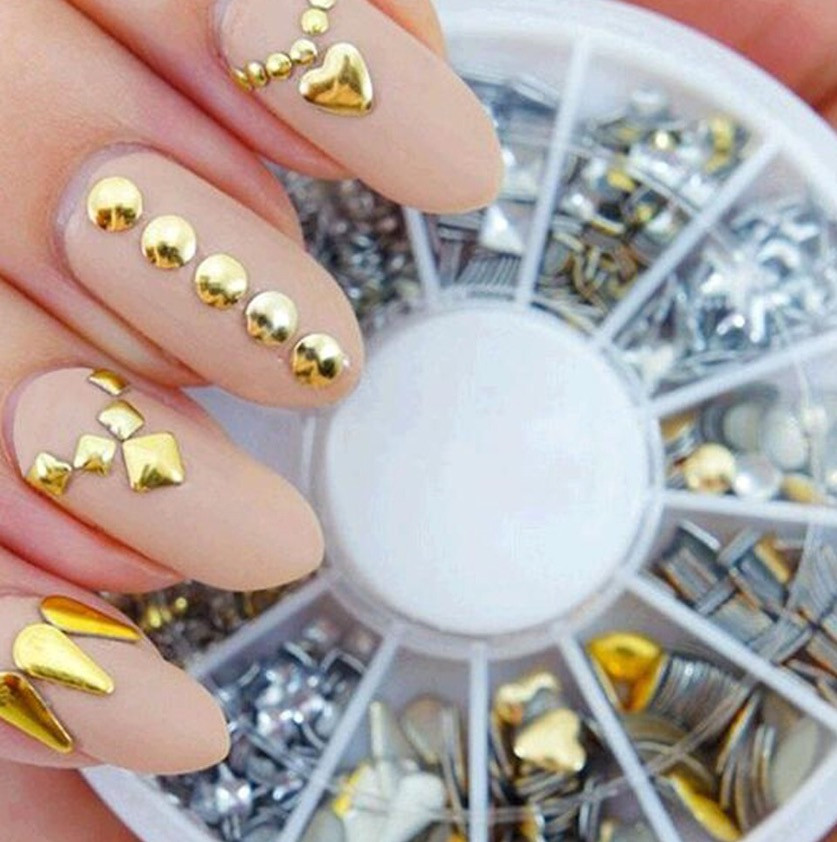 Заклепки для дизайна ногтей