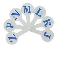 Набор букв, английский алфавит ZB.4903