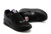 Кроссовки женские Nike Air Max 90 Hyperfuse D752 черные