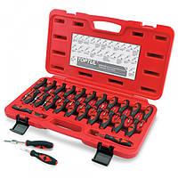 Набор инструментов для ремонта автоэлектропроводки, 23 предмета Toptul