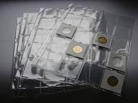 Лист для монет в холдерах на 20 ячеек