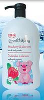 NATURAPHY детский гель для купания Клубника&Алоэ, 1 л
