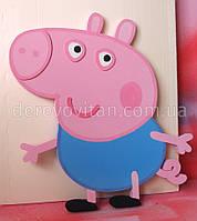 Свинка Джордж из гладкого пенопласта, 60 см