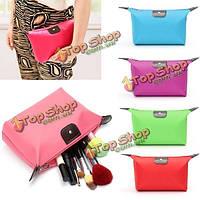Конфеты цвет водонепроницаемый нейлон косметический макияж сумка путешествия молнию сумки кейс для хранения организатор