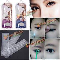 60pairs макияж глаз косметика невидимый двойной веко ленты