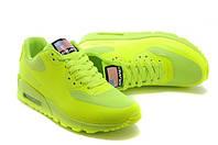 Кроссовки женские Nike Air Max 90 Hyperfuse D755 салатовые