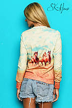 Свитшот женский | Swag лошади sk, фото 3