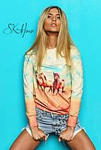 Свитшот женский | Swag лошади sk, фото 2