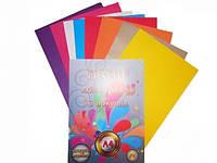 Цветная бумага 8 листов A4