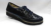 Кожаные  туфли  со шнурками  Украина. В 3-ох цветах.