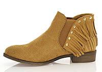 Ботинки бежевые для женщин