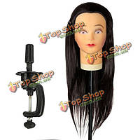 40 % высокая температура человеческие волосы тепла житель волокна манекен обучение прическа модель головы