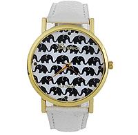 Часы женские наручные Слоники арт. 054