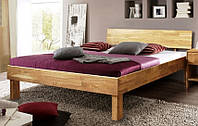 """Кровать из массива дерева """"Ева"""""""