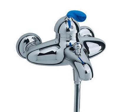 Смеситель на ванну (голубой) HANSGROHE Aхor Azzur (34400530), фото 2