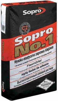Клей для плитки Sopro №1-400, 25кг, фото 2
