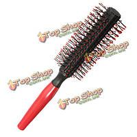 Парикмахерское гребень ролика круглая щетка для волос кудрявый прямые гребни
