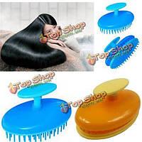 Пластический массаж кисти гребень мытья волос шампунем массажер головы здоровой кожей головы
