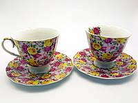 Сервиз чайный 2 персоны фарфоровый Розы