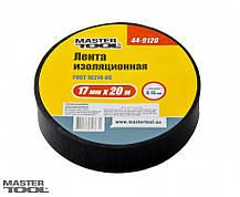 Лента изоляционная 0,15 мм,17 мм*20 м, 10 шт, синяя Mastertool (44-9020), фото 2