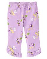Детские трикотажные штанишки для девочки  6-12 месяцев