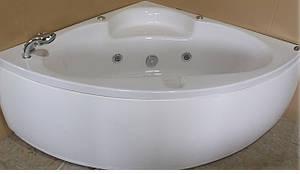 Ванна угловая с гидромассажем и пневмокнопкой 1400*1400*620 мм, со смесителем APPOLLO (АТ-970), фото 2