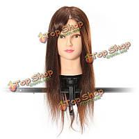 Горячие парикмахерские учебные головы манекена практике модель отрезка парики