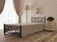Кровать односпальная металлическая Соната