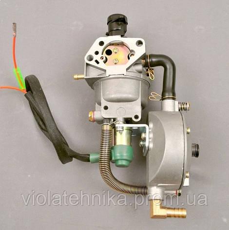 Карбюратор бензин- газ с редуктором (5,0-6,0 кВт), фото 2