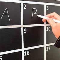 Белая арт ручка-фломастер для планов и заметок
