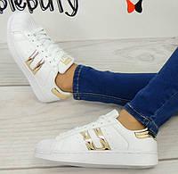 Кеды, кроссовки белого цвета  размер 36-41