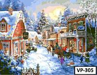 Картина на холсте по номерам VP 305 40x50см