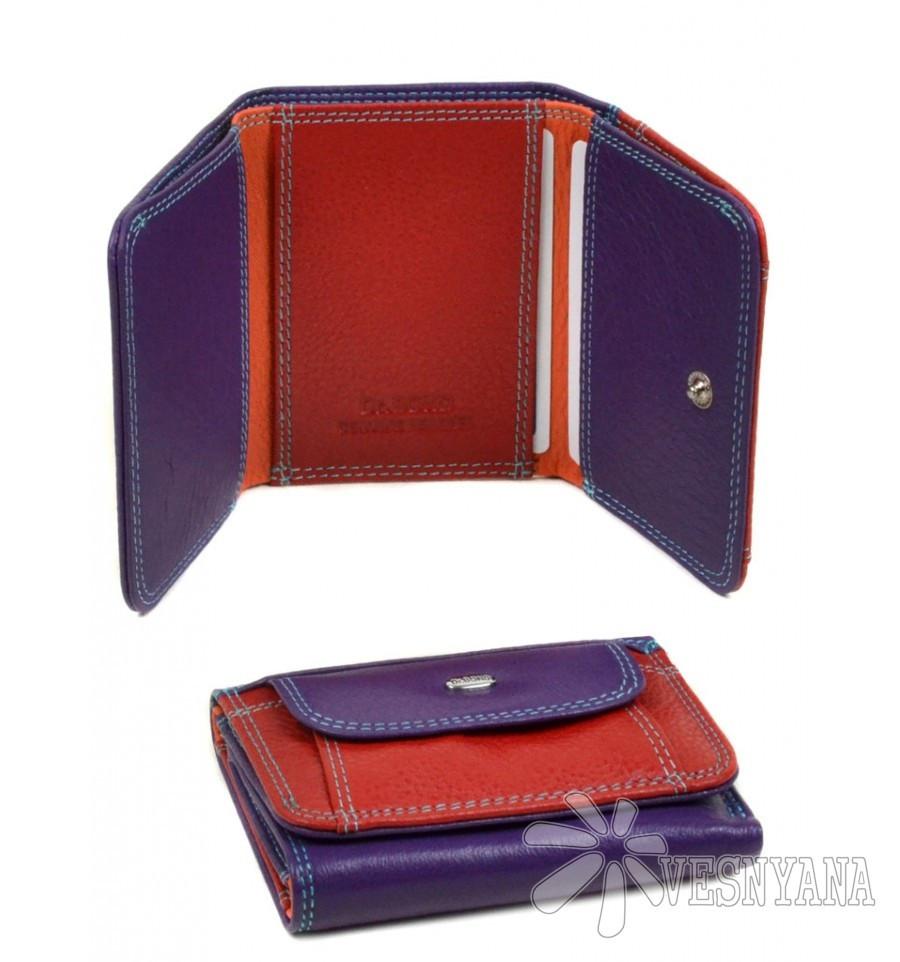 Оригинальный кожаный кошелек Rainbow Dr.Bond WRS-7