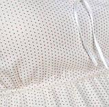 """Нічна сорочка """"Milky Way"""" для вагітних та годуючих на бретелях. Молочний. Колекція """"Sweet collection"""", фото 7"""