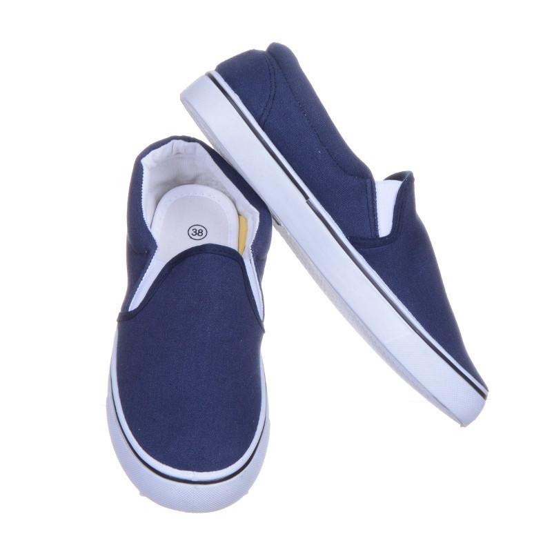 Синие женские слипоны