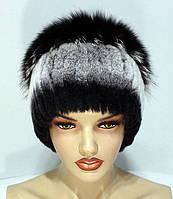 Меховые шапки из комбинированного меха Песца и Rex Rabbit Кубанка.(ч.ш. ca1e6810d53ae