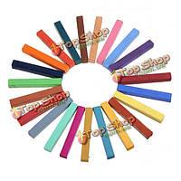 24 моды цветов FAST легкий забавный временный цветной комплект салона мела мелка краски для волос