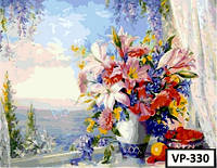 Картина на холсте по номерам VP 330 40x50см