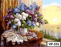 Картина на холсте по номерам VP 331 40x50см