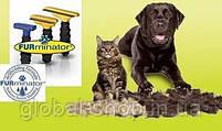 Щетка для груминга крупных собак Furminator deShedding tool Large Фурминатор Fubnimroat лезвие 10,16 см, фото 8