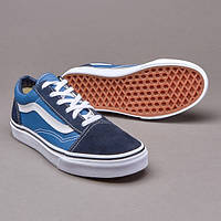 Кеды женские Vans old skool D771 синие