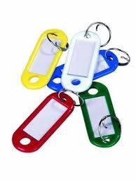 Бирки для ключей, набор 12 шт. (шт.) Top Tools (90U250)