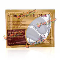 Коллаген кристалл маска для глаз веко патч для интенсивного увлажнения и горячей