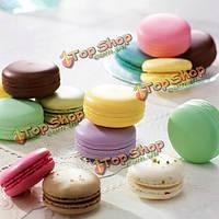 Круглый шар конфеты фрукты Macaron предназначен для губ увлажняющий бальзам питательный