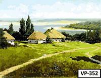 Картина на холсте по номерам VP 352 40x50см