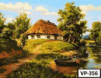 Картина на холсте по номерам VP 356 40x50см