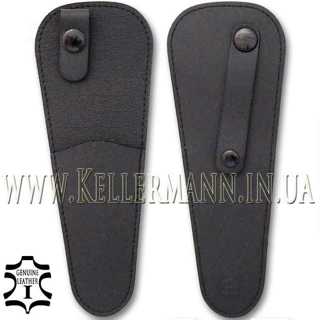 Кожаный чехол для парикмахерских ножниц Kellermann Top Professional Solingen BL 800 TPF-5''