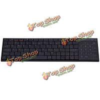 Ipazzport KP-810-25btt тонкий QWERTY Bluetooth  для беспроводной мини-клавиатура
