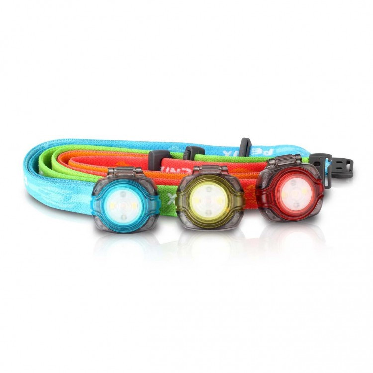 Налобный фонарь Fenix HL05 White/Red LEDs, красный, зелёный, голубой