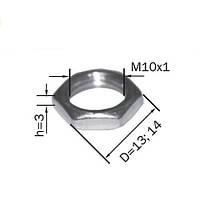 Гайка стальная (толщина - 3мм)